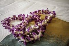 Fresh Hawaiian Lei Royalty Free Stock Photography