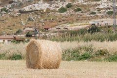 Fresh hay bales Stock Photography