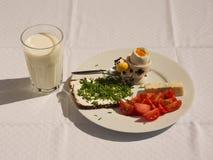 Fresh healhty breakfast Stock Image