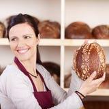 Fresh health bread at the bakery Royalty Free Stock Photo