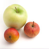Fresh healthy apples Stock Photo