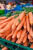 Fresh healthy bio carrot on German market Stock Image