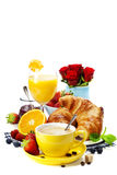 Fresh healthy breakfast Royalty Free Stock Photos