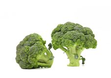 Fresh healthy brocoli. Royalty Free Stock Photo