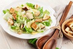 Fresh healthy caesar salad Royalty Free Stock Photo