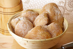 Fresh and healthy ciabatta bread Royalty Free Stock Images