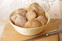 Fresh and healthy ciabatta bread Stock Images