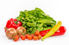 Fresh healthy colorful vegetables Stock Image