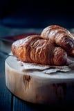 Fresh healthy croissant for breakfast Stock Photo