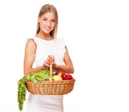 Fresh and healthy. Royalty Free Stock Image