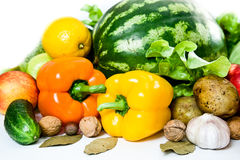 Fresh healthy food Stock Image