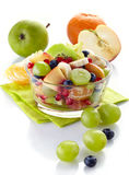 Fresh healthy fruit salad Royalty Free Stock Photo