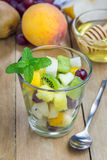 Fresh healthy fruit salad Royalty Free Stock Photos