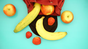 Fresh healthy fruits, diet and active lifestyles Concept, Fresh Royalty Free Stock Photos