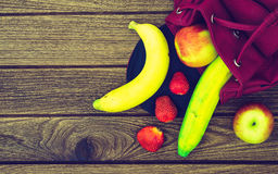 Fresh healthy fruits, diet and active lifestyles Concept, Fresh Stock Photo