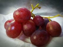 Fresh and healthy grape fruits stock image
