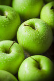 Fresh healthy green apples Stock Photo