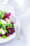 Fresh healthy green salad for lunch dinner Stock Image