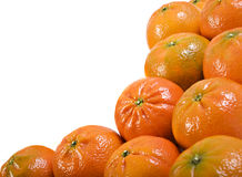 Fresh healthy mandarin citrus fruit Royalty Free Stock Image