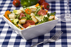 Fresh and healthy mixed salad Stock Photo