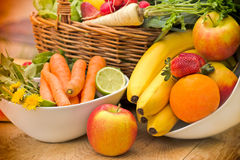 Fresh healthy, organic food Royalty Free Stock Image
