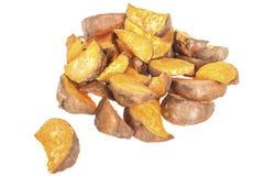 Fresh Healthy Roasted Sweet Potatoes Stock Photos
