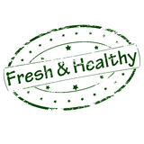 Fresh and healthy Stock Photography