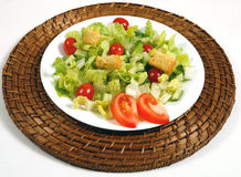 Fresh and healthy salad Royalty Free Stock Images