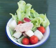 Fresh healthy salad Royalty Free Stock Photos