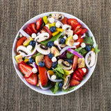 Fresh healthy salad Royalty Free Stock Images