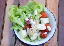 Fresh healthy salad Stock Photos
