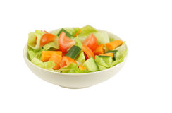 Fresh and healthy salad at shallow DOF Royalty Free Stock Photos