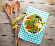 Fresh healthy salad Royalty Free Stock Image