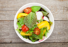 Fresh healthy salad Stock Photos