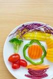 Fresh healthy salad Royalty Free Stock Photography