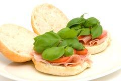 Fresh healthy sandwich Royalty Free Stock Photos