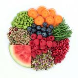 Fresh Healthy Superfood royalty free stock image