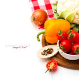 Fresh healthy vegetables Royalty Free Stock Image