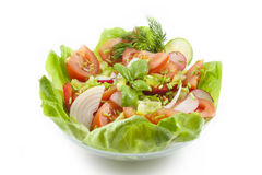 Fresh healthy vegetables salad Royalty Free Stock Photo