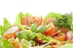 Fresh healthy vegetables salad Stock Photos