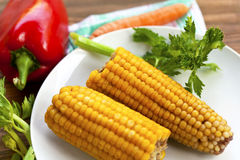 Fresh healthy vegetables Stock Photography