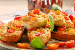 Free Fresh Healthy Vegetarian Sandwich With Cheese And Tomato Royalty Free Stock Images - 88856089