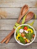 Fresh healty salad Stock Image
