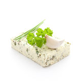 Fresh herb butter Stock Photo