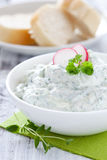 Fresh herb cheese Royalty Free Stock Photography