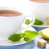 Fresh herbal mint tea Royalty Free Stock Photo