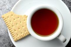 Fresh herbal tea  overhead Stock Images