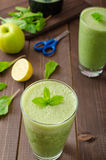 Fresh herbs smoothie Royalty Free Stock Photography
