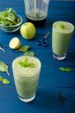 Fresh herbs smoothie Royalty Free Stock Photo