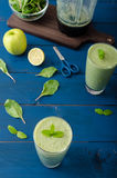 Fresh herbs smoothie Royalty Free Stock Images